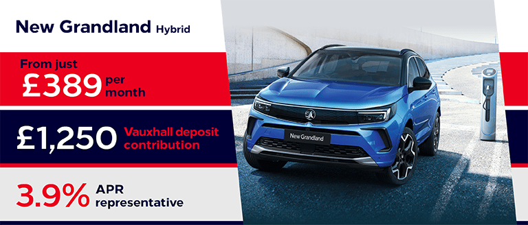 New Vauxhall Grandland Hybrid Finance Offer