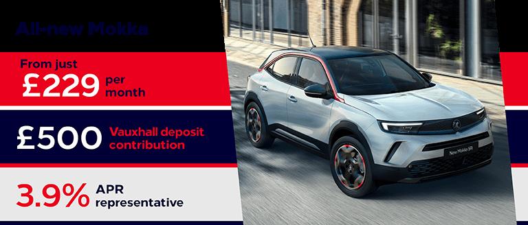 All-New Vauxhall Mokka Finance Offer