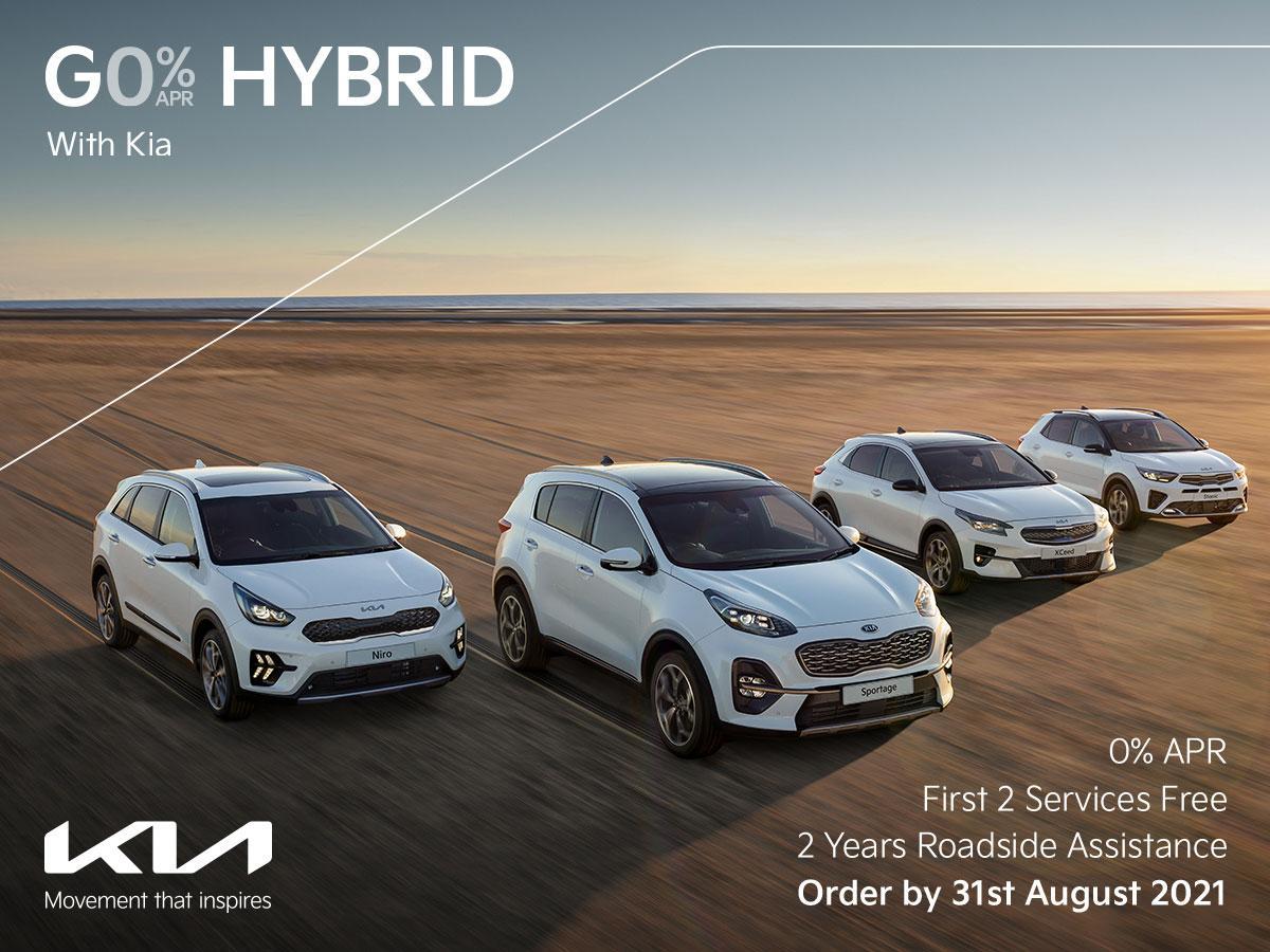Go Hybrid with Drayton Motors Kia