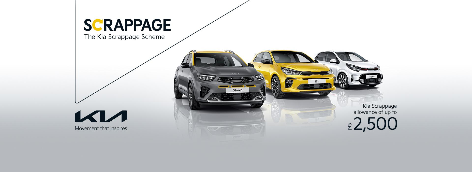 The Kia Scrappage Scheme at Drayton Motors