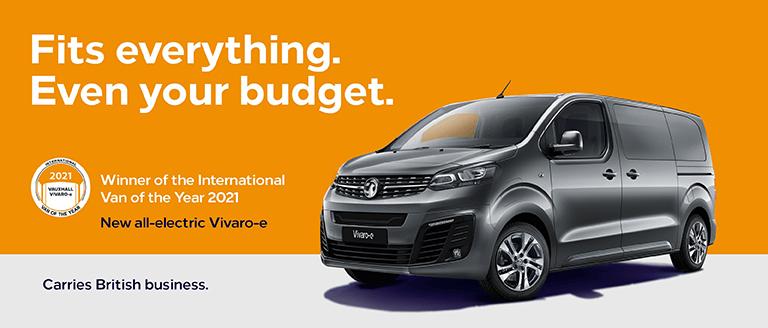 New Vauxhall Vivaro-E Offer