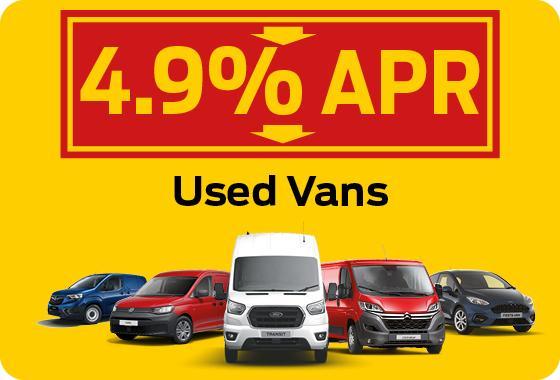 Used Vans Thumbnail - 4.9% APR