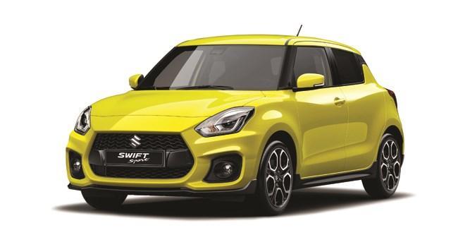Swift Sport Hybrid at Sherwoods