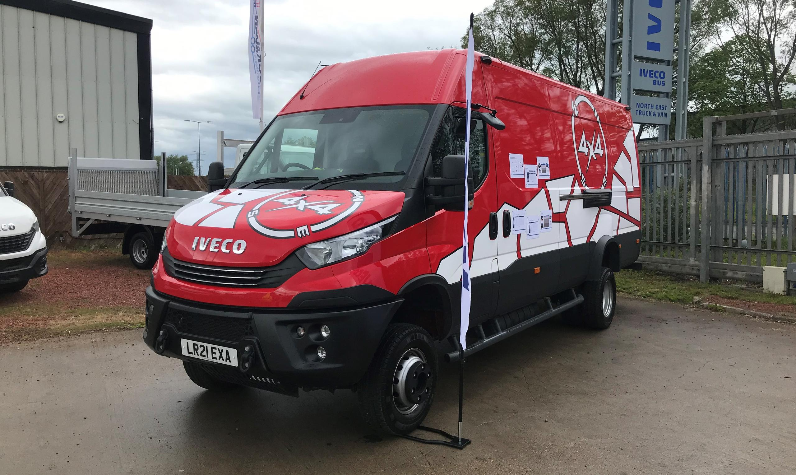 New IVECO Daily 4x4 demo returning to North East Truck and Van