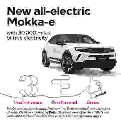 Mokka-e 30,000 Miles Of Free Electricity