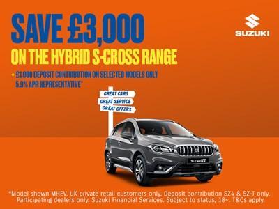 Suzuki S-Cross Hybrid Offers