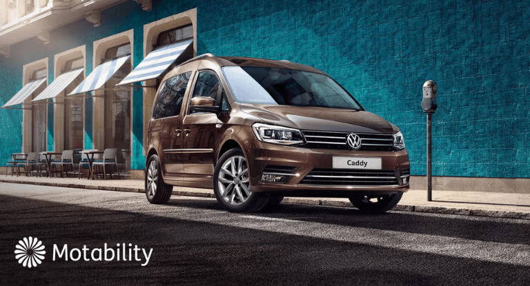 Motability: The new Caddy life available from £949 advanced payment