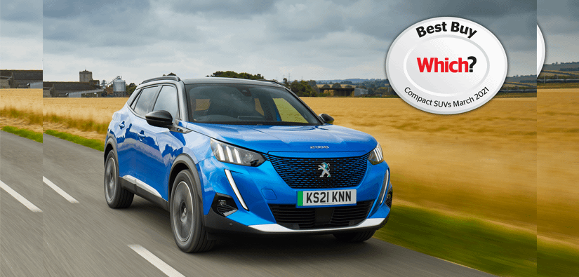 Peugeot e-2008 named 'Best Buy' by Which?
