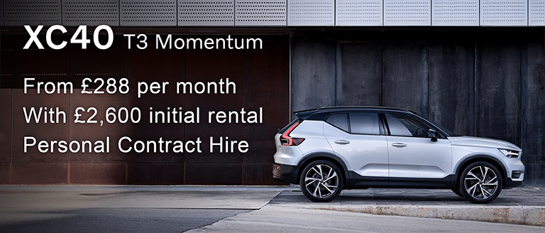 Volvo XC40 T3 Momentum PCH Offer