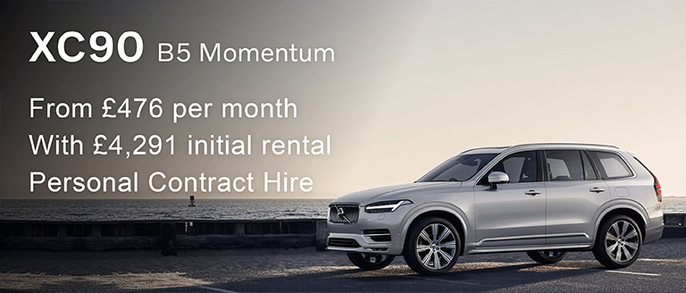 Volvo XC90 B5 Momentum PCH Offer