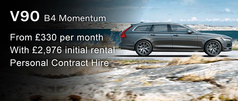 Volvo V90 B4 Momentum PCH Offer