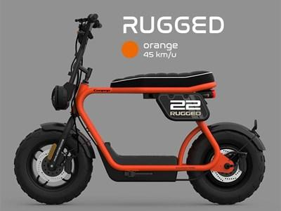 Coopop Rugged Electric Urban Scooter