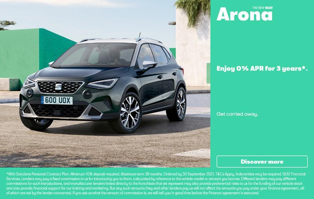 New SEAT Arona offer at Chippenham Motor Company