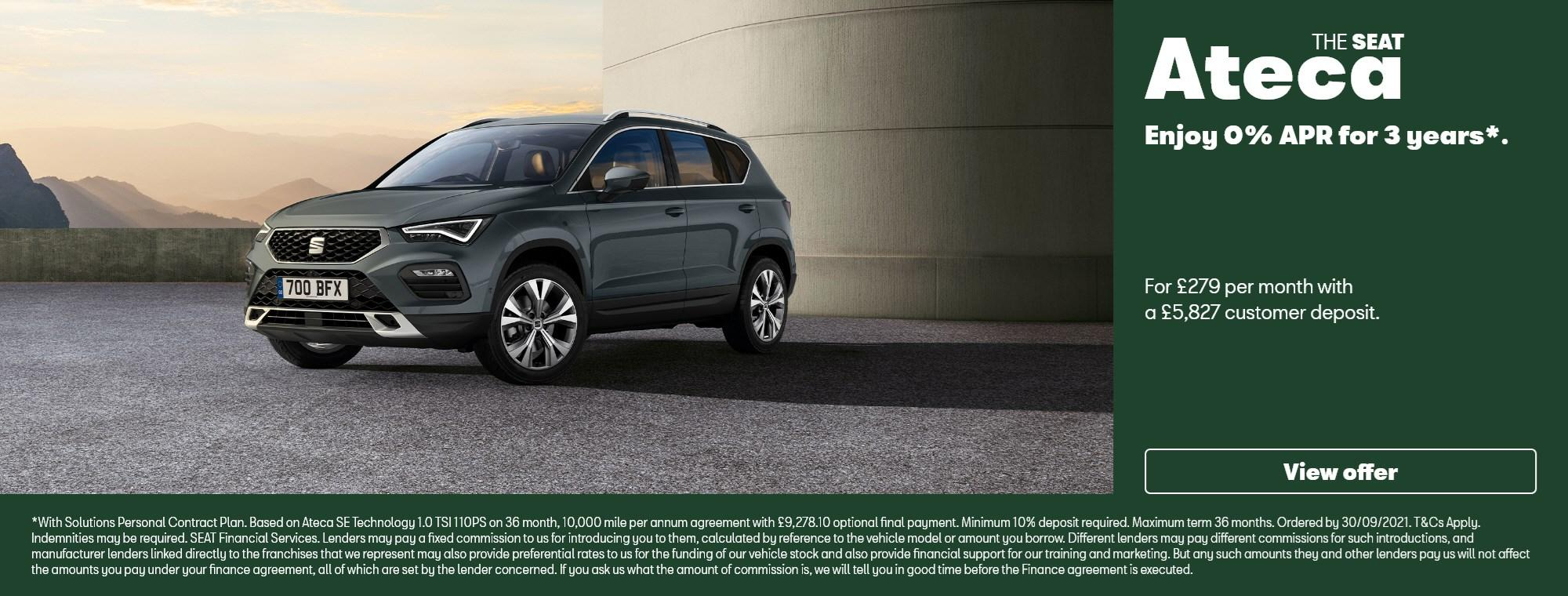 New SEAT Ateca with offer