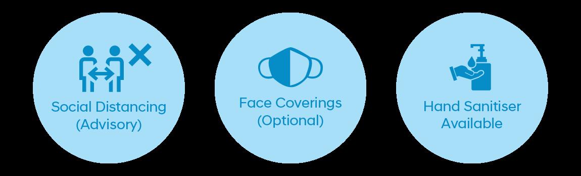 COVID-19 Precautions Strip