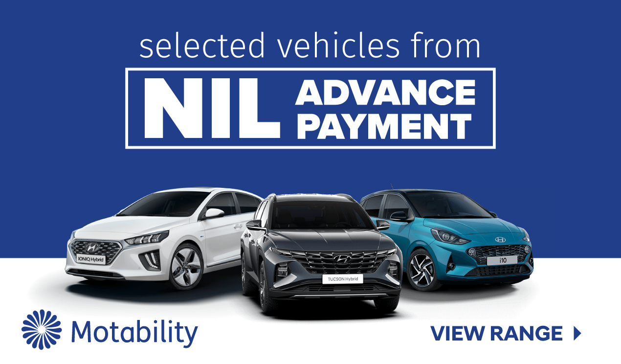 Hyundai Motability Homepage Banner