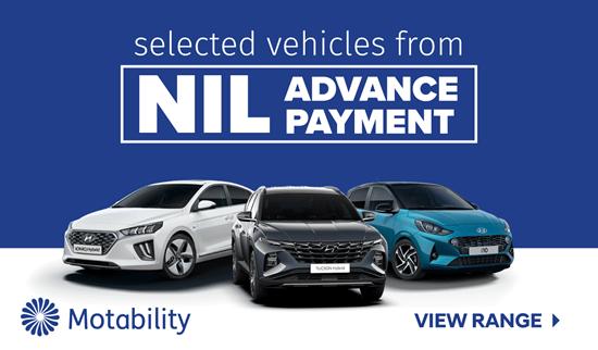 Hyundai Motability Offers