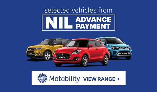 Suzuki Motability Offers