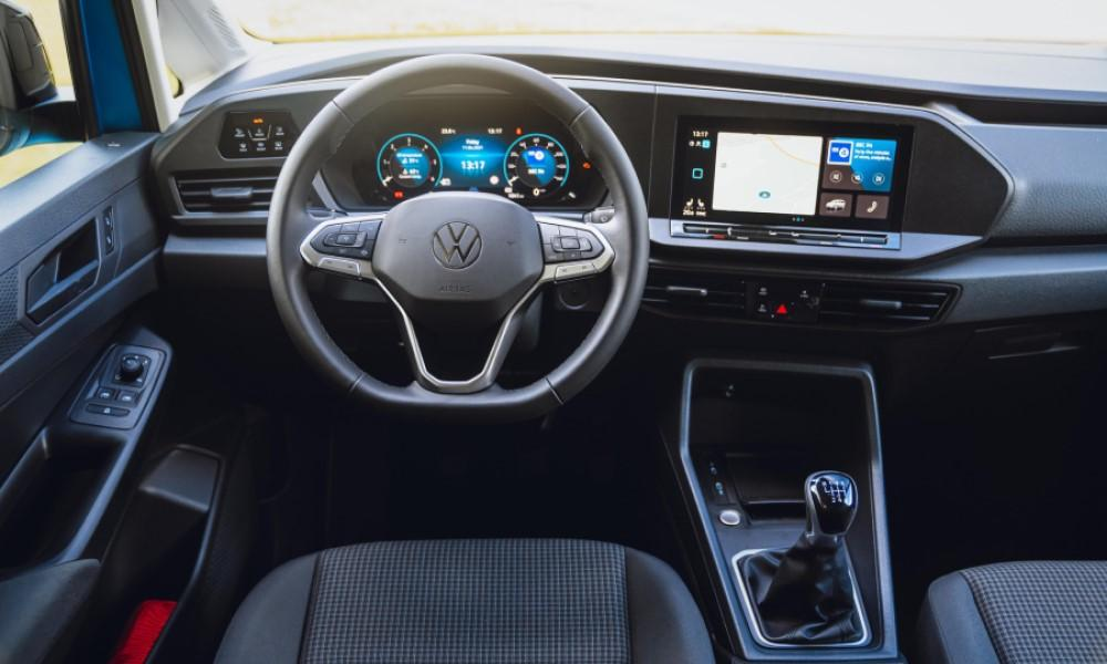 Volkswagen Caddy California Central Console