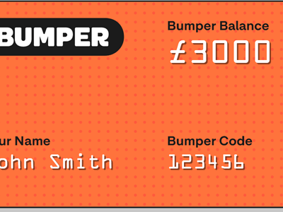 Bumper splits your Car Repair Bill into monthly chunks