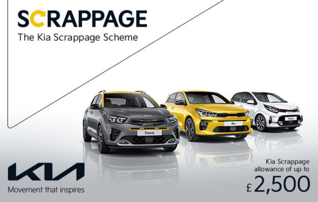Kia Scrappage Offer at Chippenham Motor Company