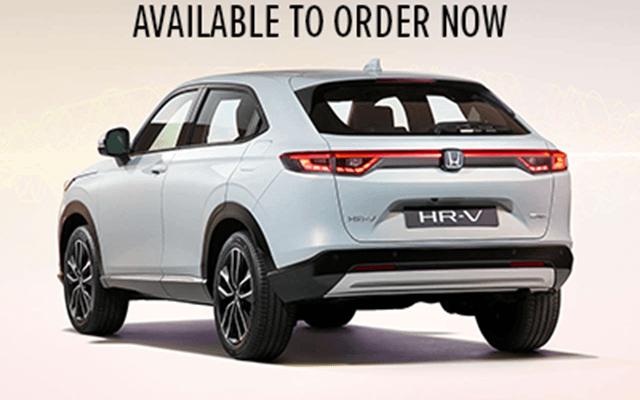 HR-V Hybrid - Now Available to Order!