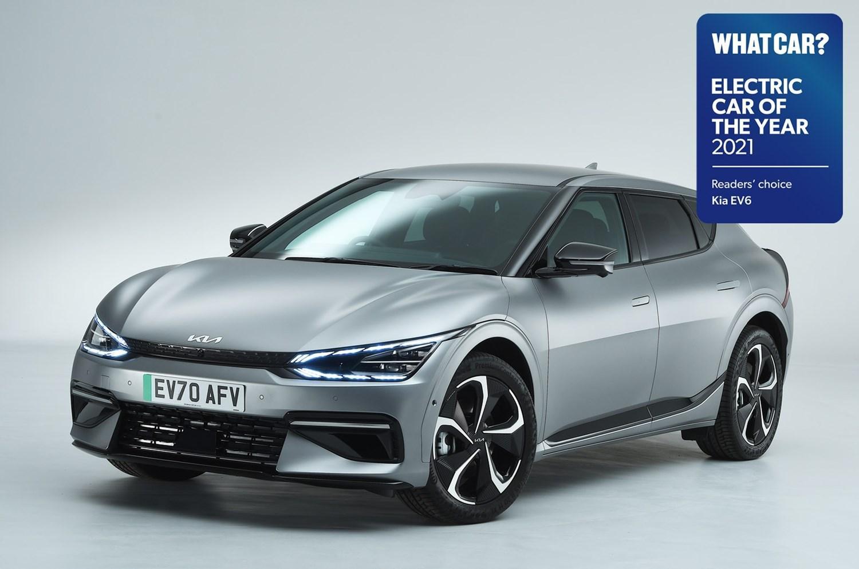 Kia EV6 Electric Car of the Year 2021