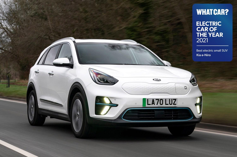 Kia e Niro Electric Car of the Year 2021
