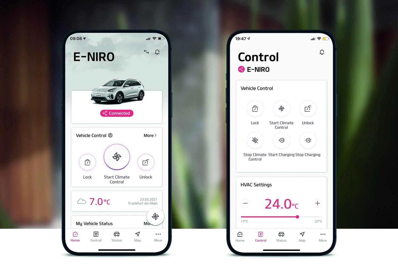 Kia UVO Connect App