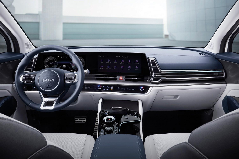 All-New Kia Sportage 2021 interior