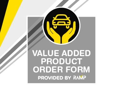 Ramp Value Added Product Order Form
