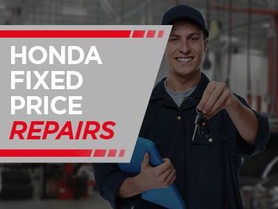 Honda Fixed Price Repairs