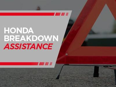 Honda Breakdown Assistance With Your Service