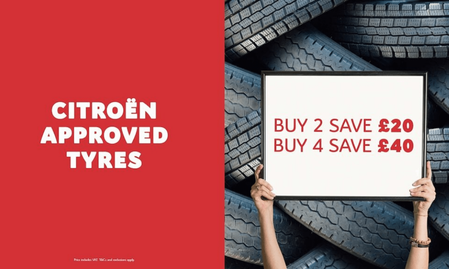 Citroen Approved Tyres Offer
