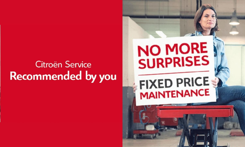 Citroen Fixed Price Servicing
