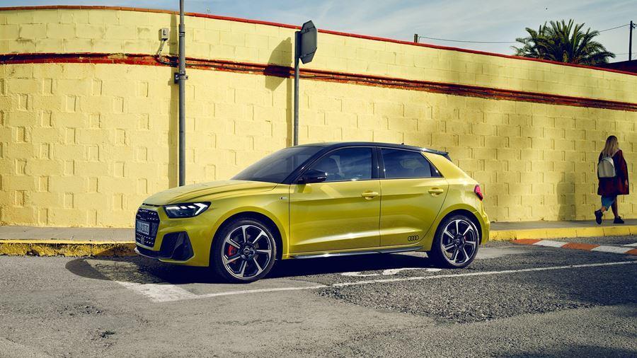 Yellow A1 Sportback