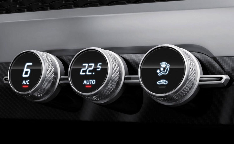 Audi Air Conditioning Dials