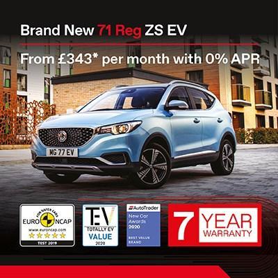 New MG ZS EV Offer