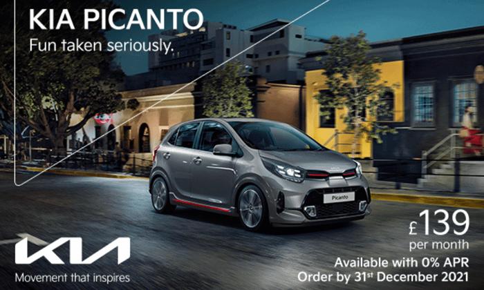 Kia Picanto with 0% APR