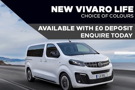 Vauxhall Vivaro Life - Browse Our Offers