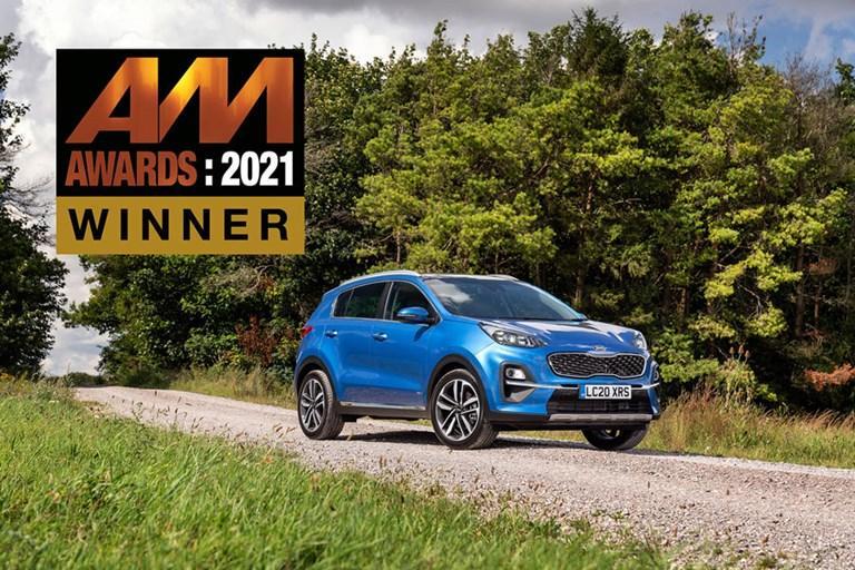 SPORTAGE PICKS UP 'USED CAR OF THE YEAR' AWARD AT THE AM AWARDS 2021