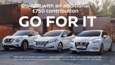 Nissan GO FOR IT Sales Event