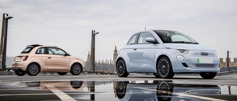 fiat 500 best small electric car award