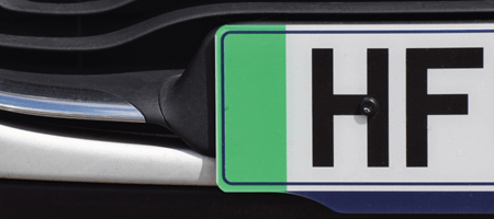 WHY ARE NUMBER PLATES REQUIRED?