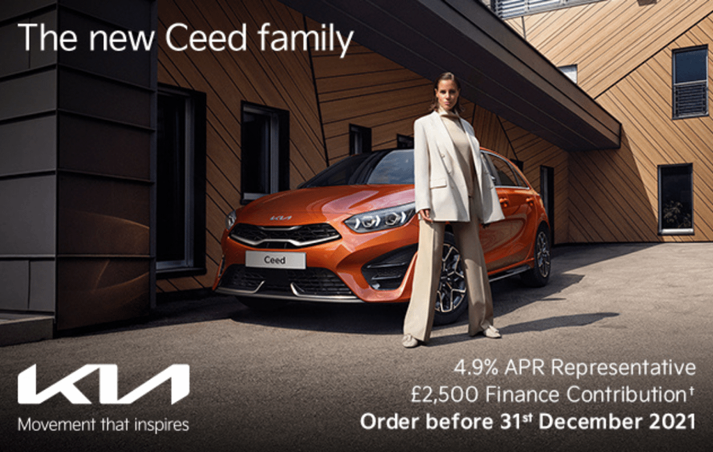 The Kia Ceed with offer