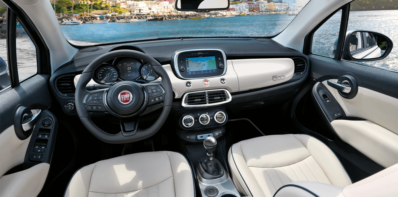 Fiat 500X Dolcevita Interior