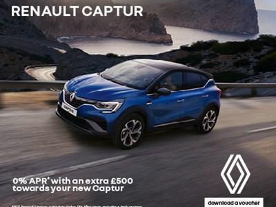 Renault Captur Offers