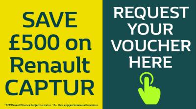 AN EXTRA £500* TOWARDS YOUR NEW  CAPTUR