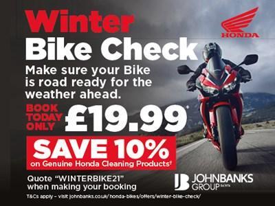 Winter Bike Check