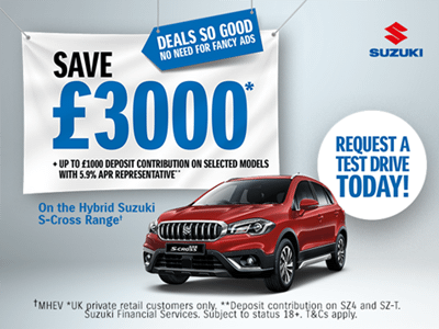 S-Cross Hybrid Offers and Finance
